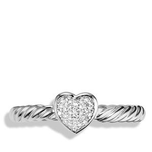 Cable collection David Yurman ring- size 6
